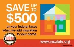 insulation tax credit